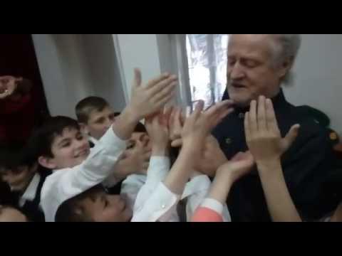 Чеченские дети после концерта Чеченского симфонического оркестра! ! Фантастика! !,