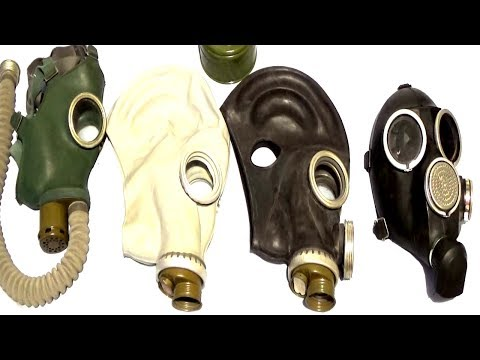 Soviet Civil Defence Gas Masks
