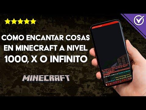 Cómo Encantar Cosas y Objetos en Minecraft a Nivel 1000, X o Infinito Fácilmente