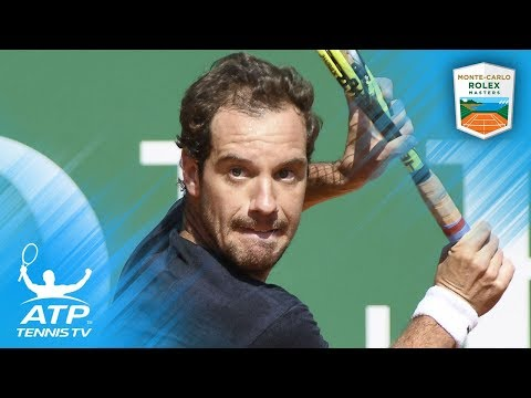 Richard Gasquet Brilliant Shots Over The Years