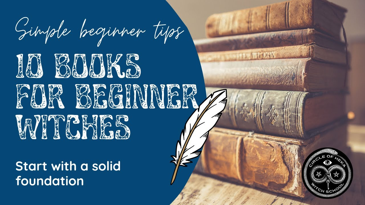 10 Witchcraft Books for Beginners