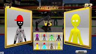 Stickman Wrestling New Stickman fight Game - Android GamePlay #5