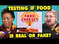 Adults React To Testing If My Food Is REAL Or FAKE