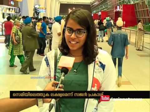 Sajan Prakash and Shivani Katariya responds to Asianet News | Rio Olympics thumbnail