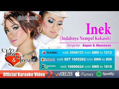 Tika & Tresna - Inek (Indahnya Nempel Kekasih) (Official Karaoke Video)