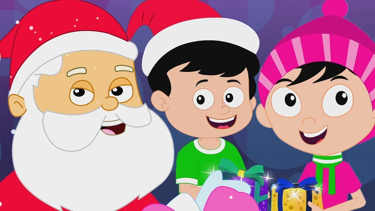 dek aula | Natal lagu | Lagu Xmas untuk Balita | Nursery Rhymes | Christmas Videos | Deck the Halls