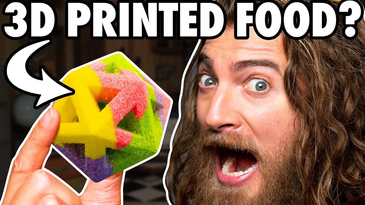 We Try Foods From The Future (Taste Test)