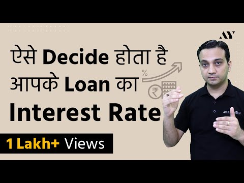 MCLR (Marginal Cost Of Funds Based Lending Rate) - Explained In Hindi