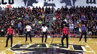 Weslaco East High School- Pep Rally Against Edinburg