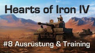 Wie wird Hearts of Iron 4? - Teil 8: Ausrüstung & Training (german / deutsch)