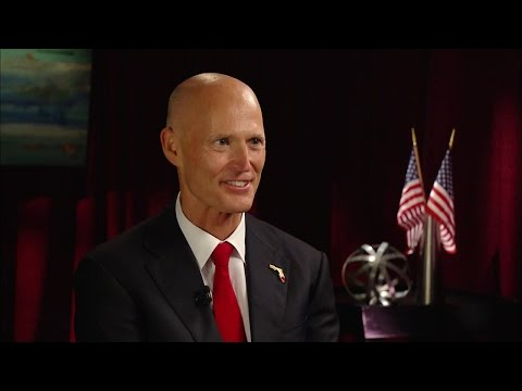 Michael Cole Interviews Governor Rick Scott
