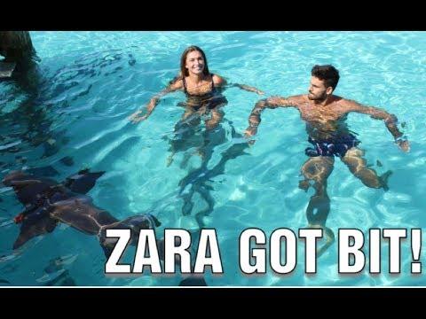 ZARA GOT BITTEN! BAHAMAS VLOG