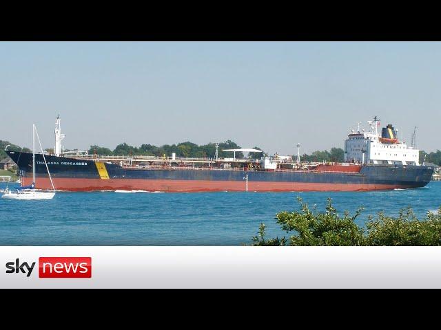 BREAKING: 'Potential hijack' of oil tanker is 'over'
