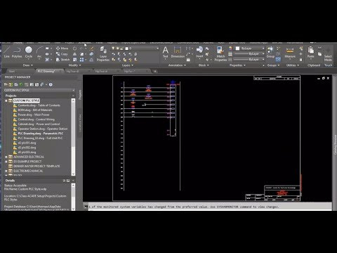 Creating Custom PLC Styles To Fit Your Design Standards in AutoCAD Electrical