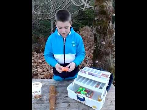 How To Set Up A Kids Fishing Tackle Box