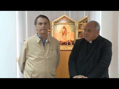 Jair Bolsonaro visita Dom Orani Tempesta , Cardeal e Arcebispo do Rio de Janeiro!