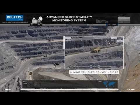 Movement and Surveying Radar by Reutech Mining