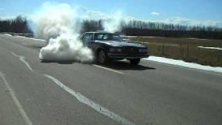 pontiac 455 burnout 08