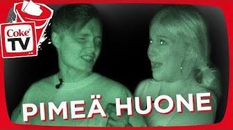 ISAC ELLIOT & ILONA JA PIMEÄ HUONE -HAASTE | #CokeTVBucketList
