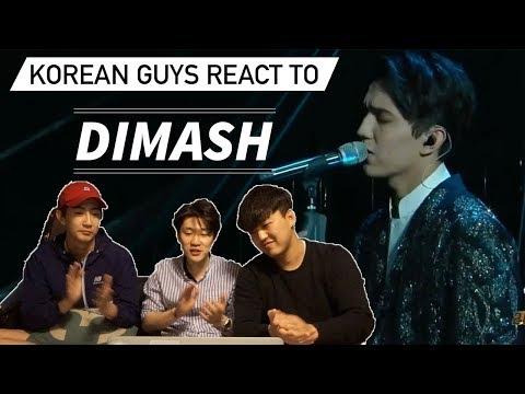 Korean Guys React to DIMASH!!