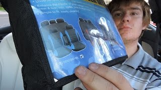 Unboxing Wish Car Seat Covers