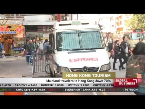 Hong Kong Tourism: Mainland travelers to Hong Kong down 70%