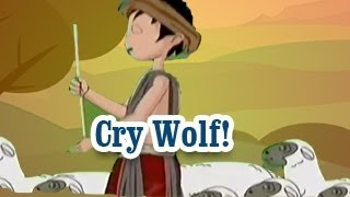Cry Wolf!   Panchatantra Tales   English Animated Stories For Kids