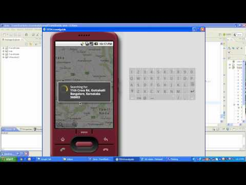 Mobile Travel Guide Android project