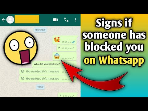 Who you out find whatsapp blocked on How to