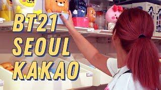 KAKAO FRIENDS, LINE STORE, BT21, TYPHOON| Bulgarian KPOP fans in Korea, Seoul vlog