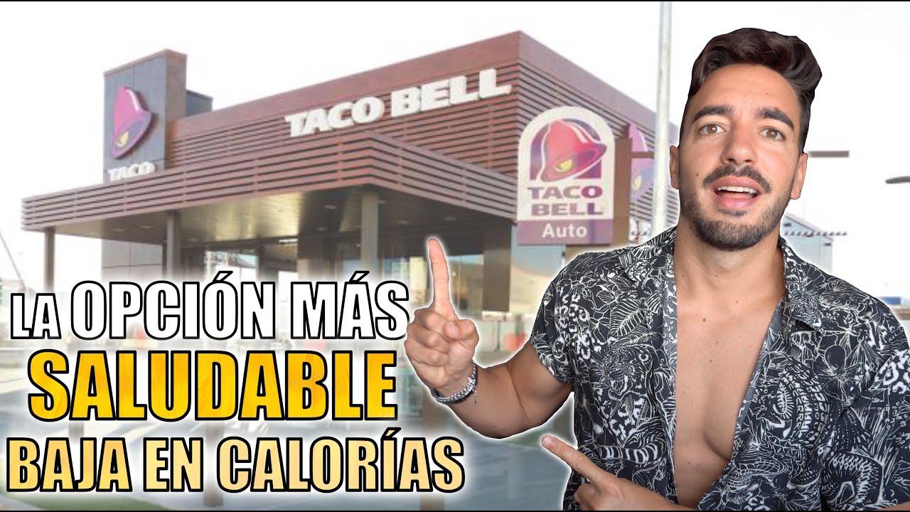 La COMIDA más SALUDABLE de TACO BELL 🌮 *Baja en calorías*