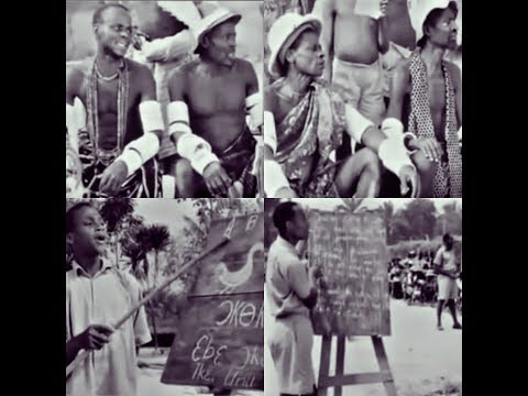 BIAFRA Histroy-How Enugu-Villagers learn-English Language in-British-Colonial era [WATCH]