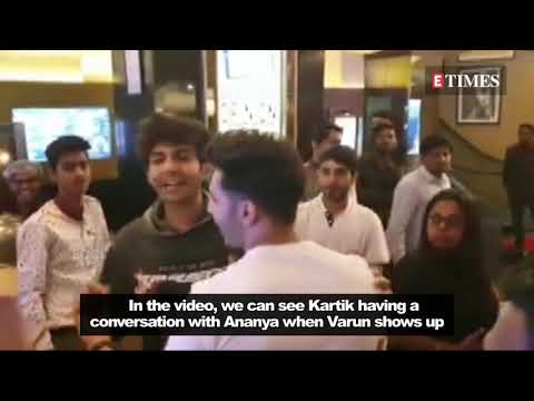 Varun Dhawan STOPS Kartik Aaryan from FLIRTING with Ananya Panday   Student of the Year 2 screening Mp3