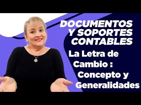 320. La Letra de Cambio : Concepto y Generalidades