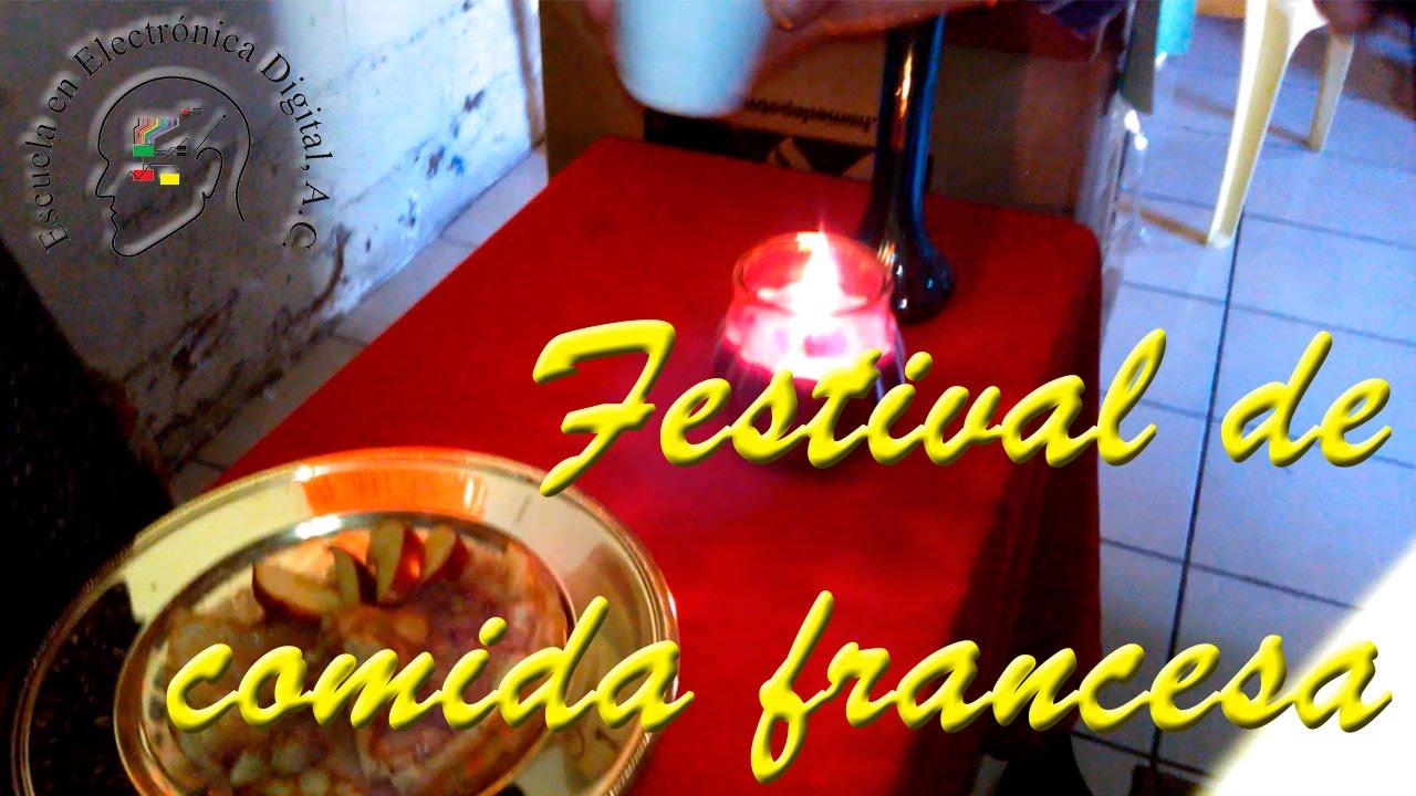 Eed festival de la comida francesa youtube for Comida francesa famosa