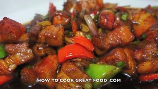 Chinese Sweet n Sour Pork Recipe - Wok cooking