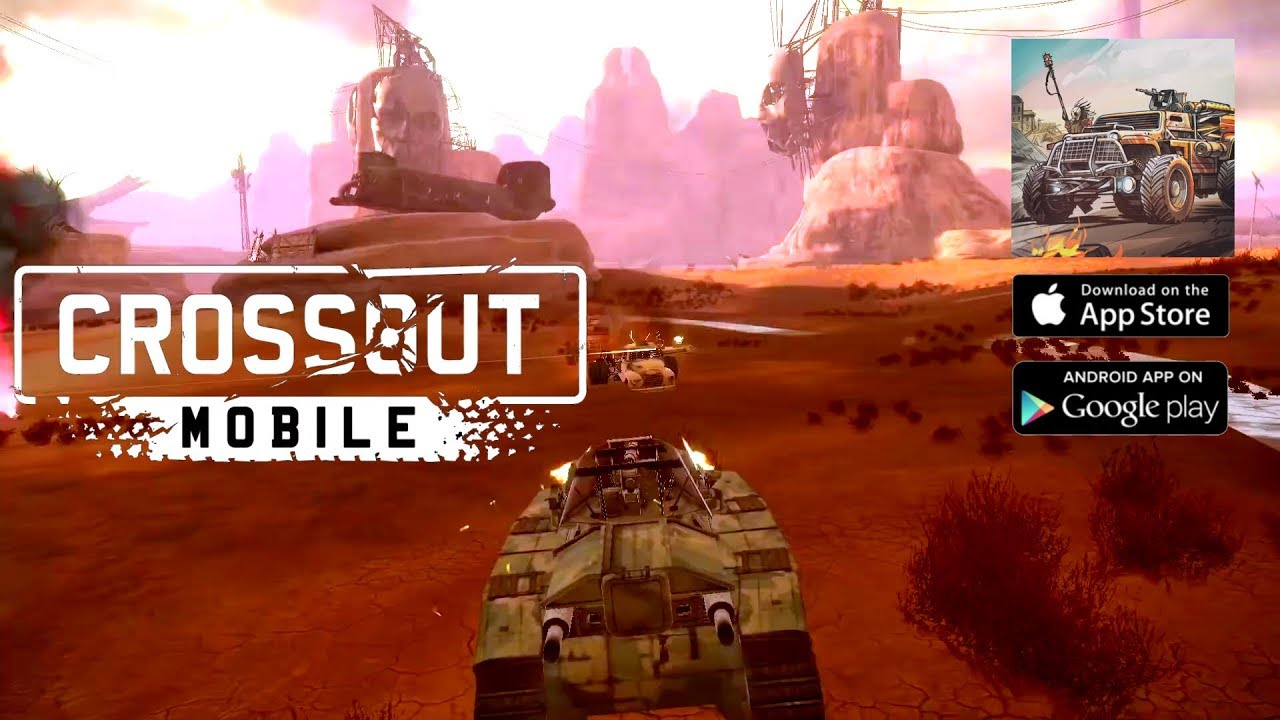 Crossout Mobile (Android/IOS) Gameplay Full HD by Gaijin Distribution KFT