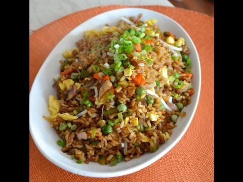 How to make tasty veg fried rice youtube how to make tasty veg fried rice ccuart Images