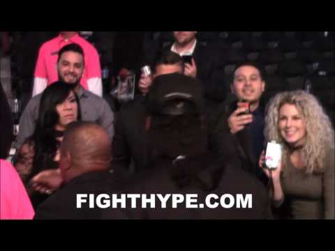 "MARSHAWN ""BEAST MODE"" LYNCH SECONDS AFTER ANDRE WARD'S VICTORY OVER SERGEY KOVALEV"