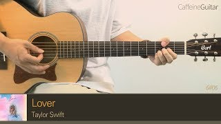 Gambar cover Lover - Taylor Swift 「Guitar Cover」 기타 커버, 코드, 타브 악보