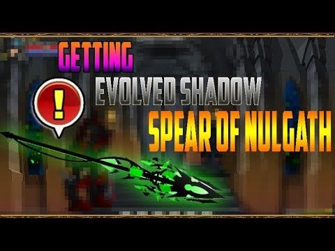 =AQW= GETTING EVOLVED SHADOW  SPEAR OF NULGATH!!  :v