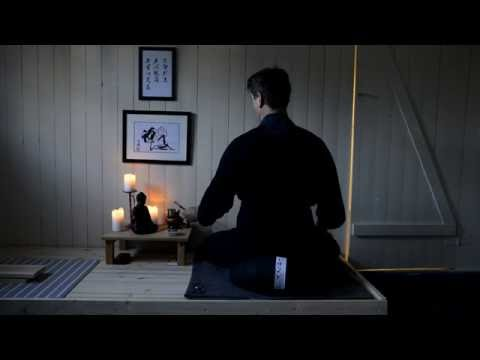 Zazen in my home zendo