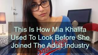 This Is How Mia Khalifa Used To Look Before She Joined The Adult Industry