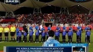 Saksi: PHL Azkals, binato ng mga plastic cup at kinutya