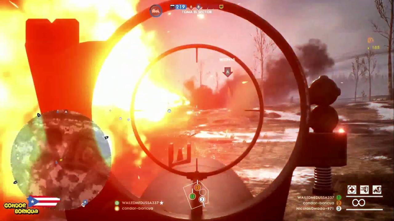 Battlefield 1 Somos Los Campers Tanques #BF1 #CondorBoricua #PR