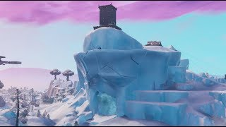 Fortnite polar peak is cracking & rumbling!! (Fortnite Battle Royale)