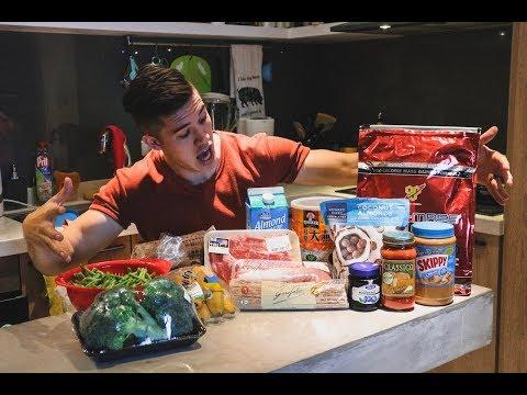增肌期  我一天到底吃了什麼?(4500卡路里!)