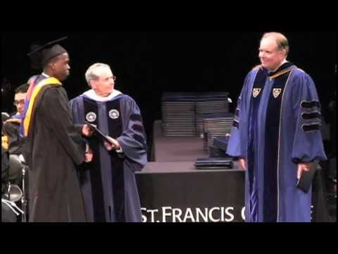 St. Francis College Spring Commencement 2012 - Diplomas
