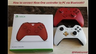 How to connect Xbox One controller to PC via Bluetooth?