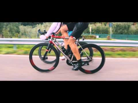 T°RED Aracnide Titanium race bike